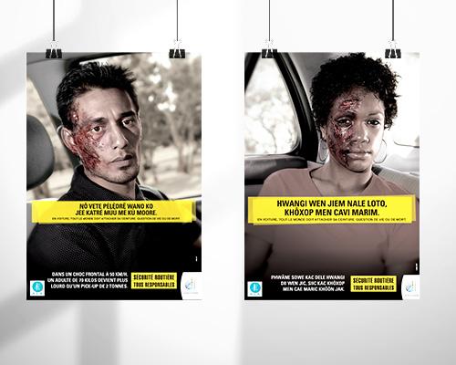 Campagne de communication pour la Sécurité Routière
